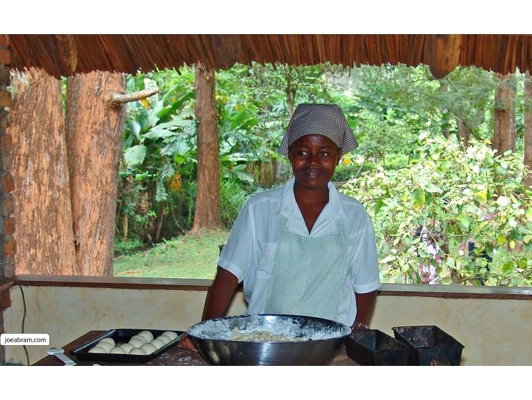 African Baker in Arusha, Tanzania