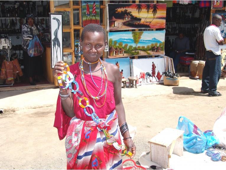African Masai Woman-1