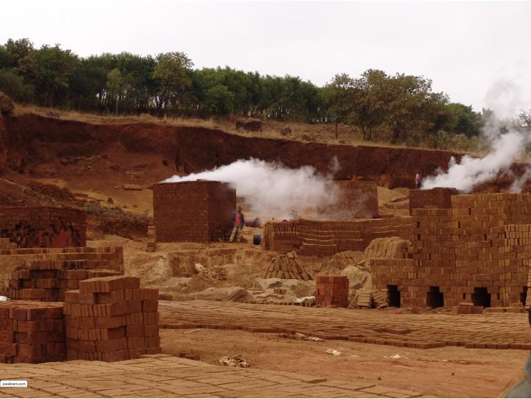 Arusha, Tanzania Brick Works-1