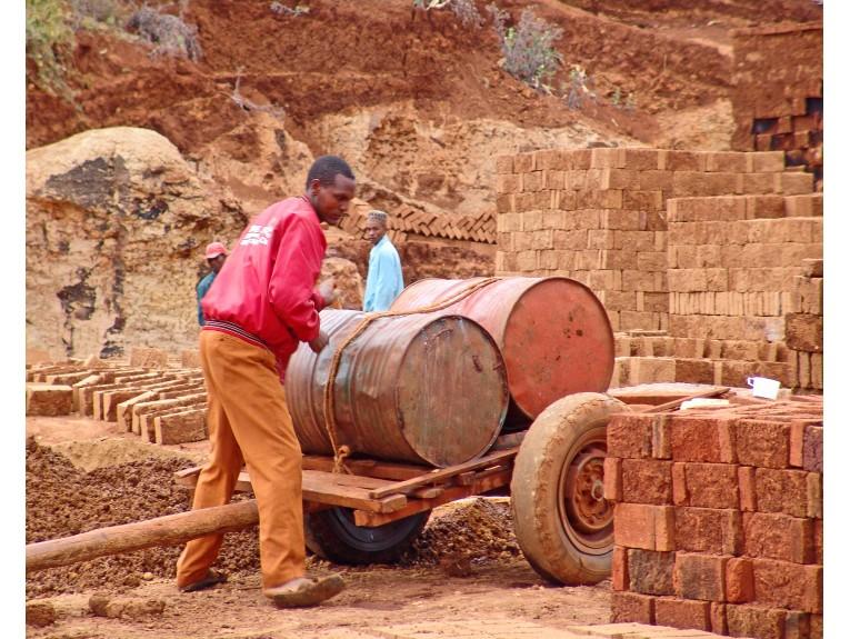 Arusha, Tanzania Brick Works-2