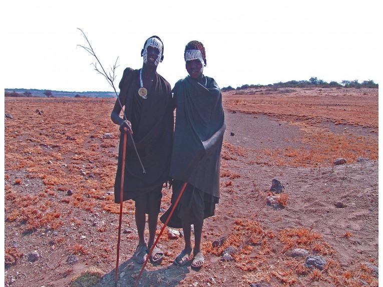 African Masai Boys