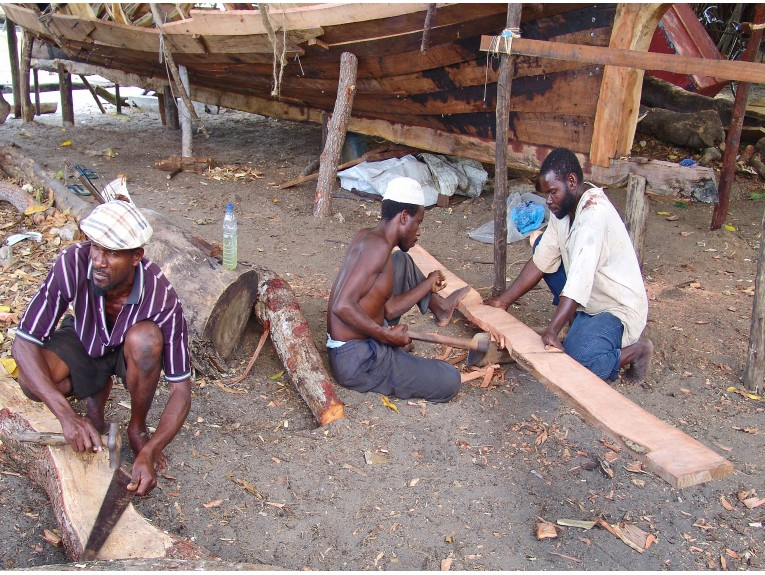 Building a Dhow-2