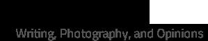 Joe Abram - Photography and Writing